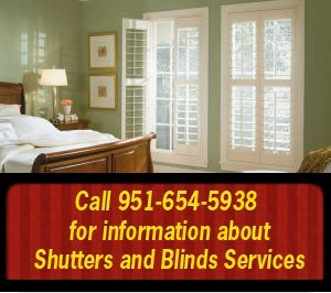 mini blinds - San Jacinto, CA - The Blind Man Inc. - Call 951-654-5938  for information about Shutters and Blinds Services