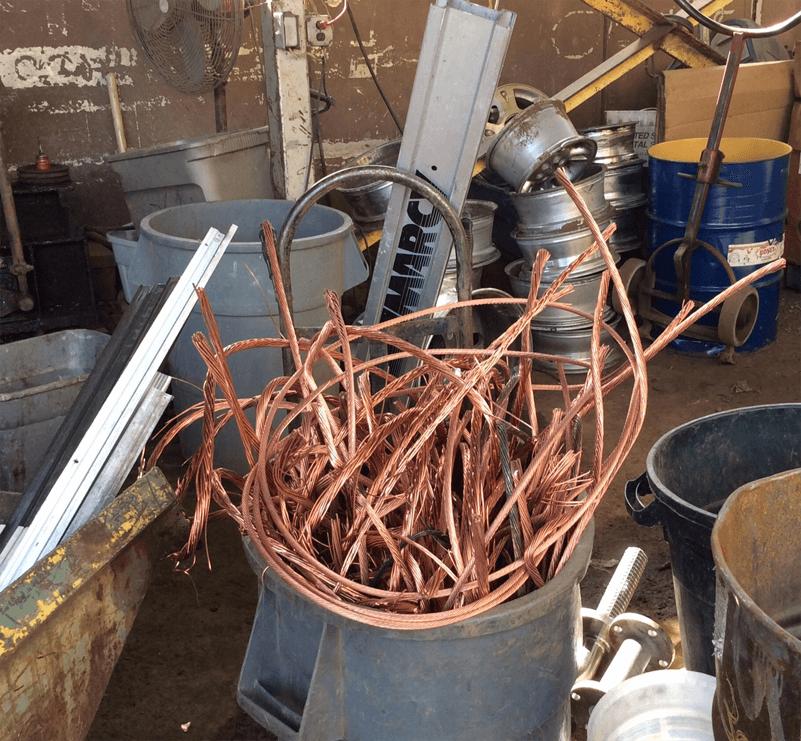 Scrap wires