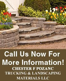 General Construction - Winona, MN - Chester F Pozanc Trucking & Landscaping Materials LLC