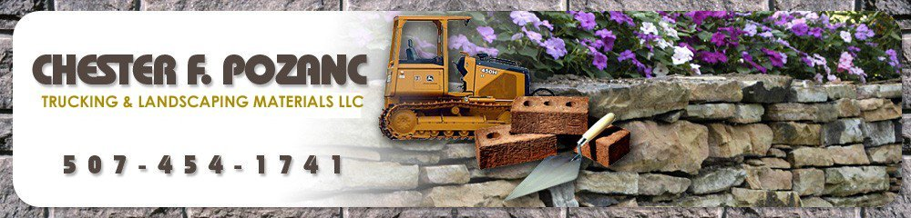 Trucking and Landscaping Materials Winona, MN - Chester F Pozanc Trucking & Landscaping Materials LLC