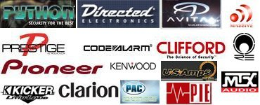Safe & Sound Mobile Electronics  - Python,  DEI, Avital, Prestige, Code Alarm, Clifford, Pioneer, Kenwood, Massive Audio, RE Audio, US Amps, Kicker, Mtx, Clarion, Pac and Pie