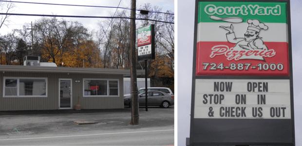 Scottdale, PA - Court Yard Pizzeria