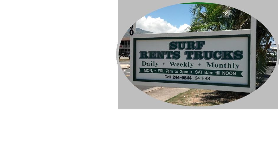 Cargo Vans | Maui, HI | Surf Rents Trucks | 808-244-5544