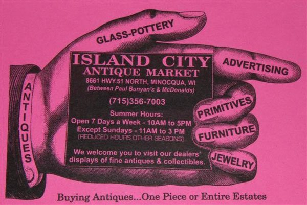 Antique Dealer - Minocqua, WI - Island City Antique Market