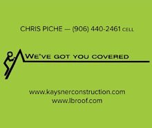 roofing service - Sault Sainte Marie, MI - Kaysner Construction Inc