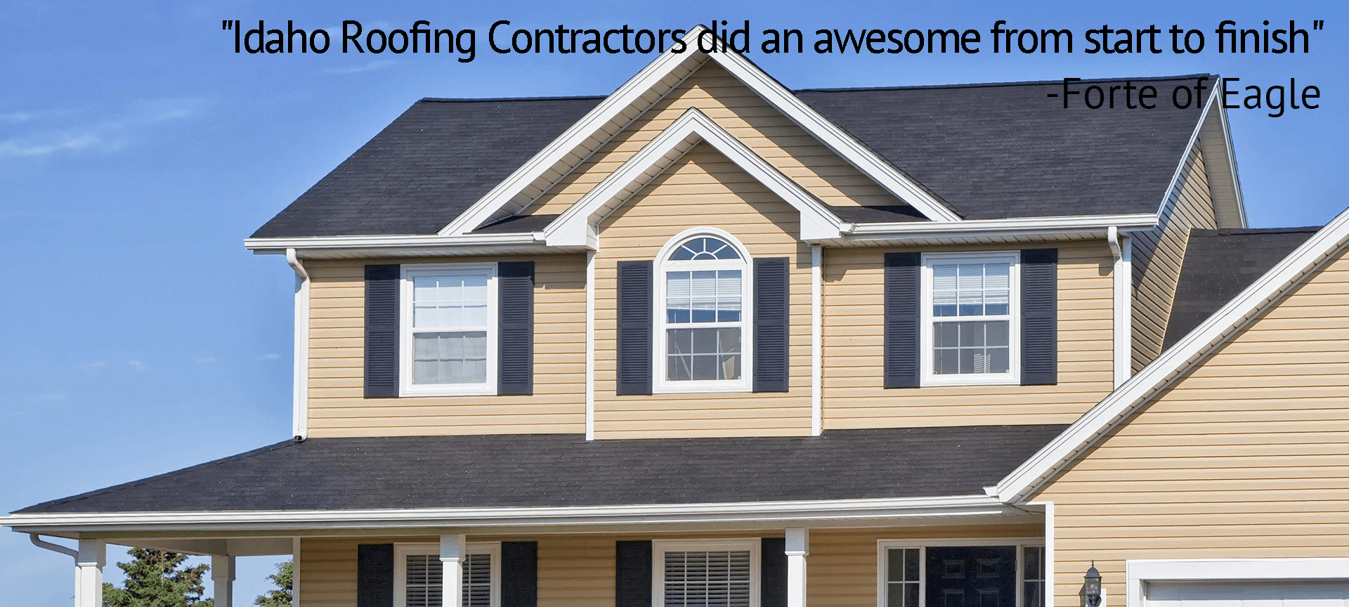Roofing Contractors Boise Id New Roof Construction