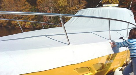 Boat Covers & Topside Canvas u0026 Upholstery Inc | Awnings | Westbrook CT