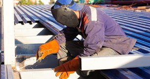 Commercial welding service