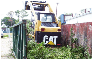 Dumpster and Clean-up Services | Decatur, TX | Affordable Fencing | 940-626-9290