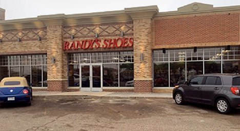 Randy's Shoes  showroom