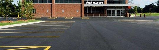 parking lot sealing