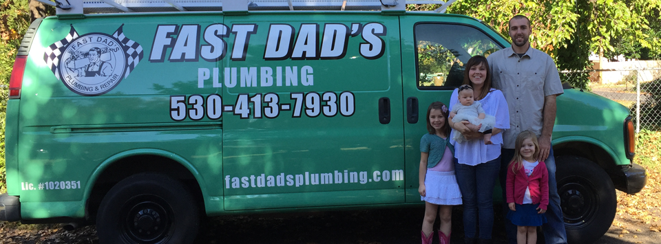 Fast Dad's van and family