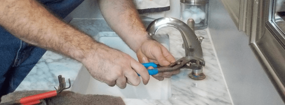 Bathroom plumbing installation