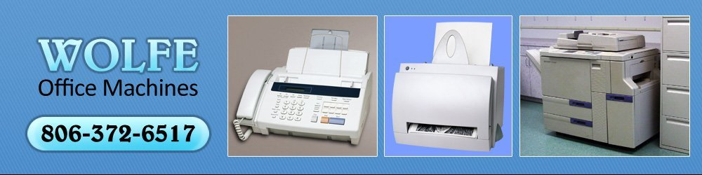 Office Equipment - Amarillo, TX - Wolfe Office Machines