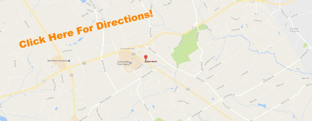 Radius Map - Best Mulch, Inc.