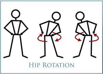 Hip Rotation Exercise