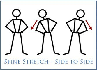Spine Stretch Exercise