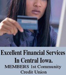 Credit Union - Marshalltown, IA - Members 1st Community Credit Union
