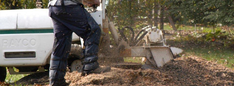 Stump, grinding