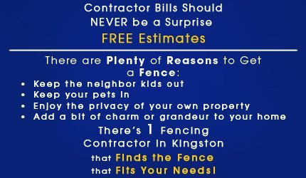 Fencing Contractor – Custom Fences - Kingston, NY  - Mertine Fencing