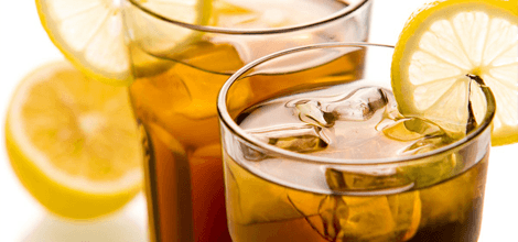 Iced tea and other beverages