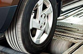 Auto tire mounting