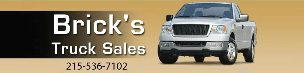 Truck Sales - Quakertown, PA - Brick's Truck Sales