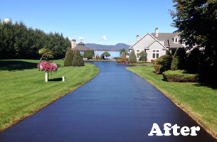Repairing and improving driveways
