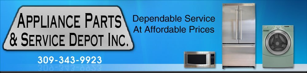 Appliance Repair Galesburg, IL - Appliance Parts Depot 3093439923