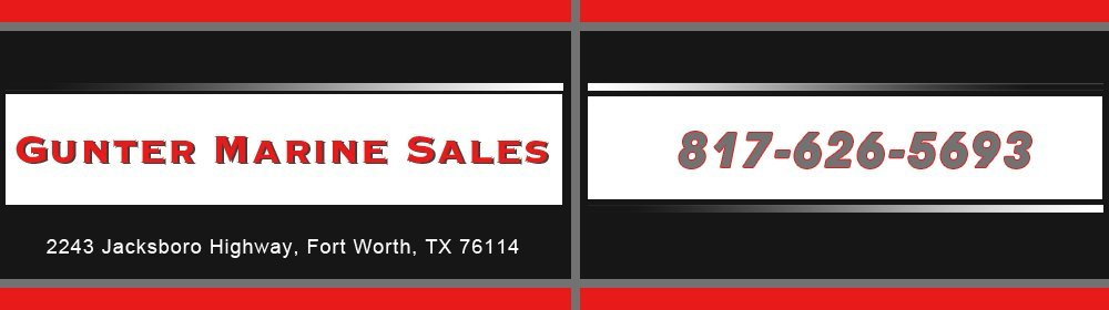 Boat Repair Services - Fort Worth, TX - Gunter Marine Sales