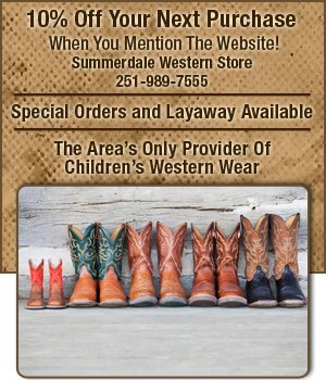 Cowboy Boots - Summerdale, AL - Summerdale Western Store