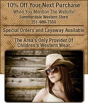 Western Apparel - Summerdale, AL - Summerdale Western Store