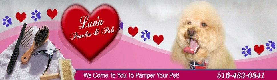 Dog Grooming Service - Nassau County, NY - Luv'n Pooches & Pals