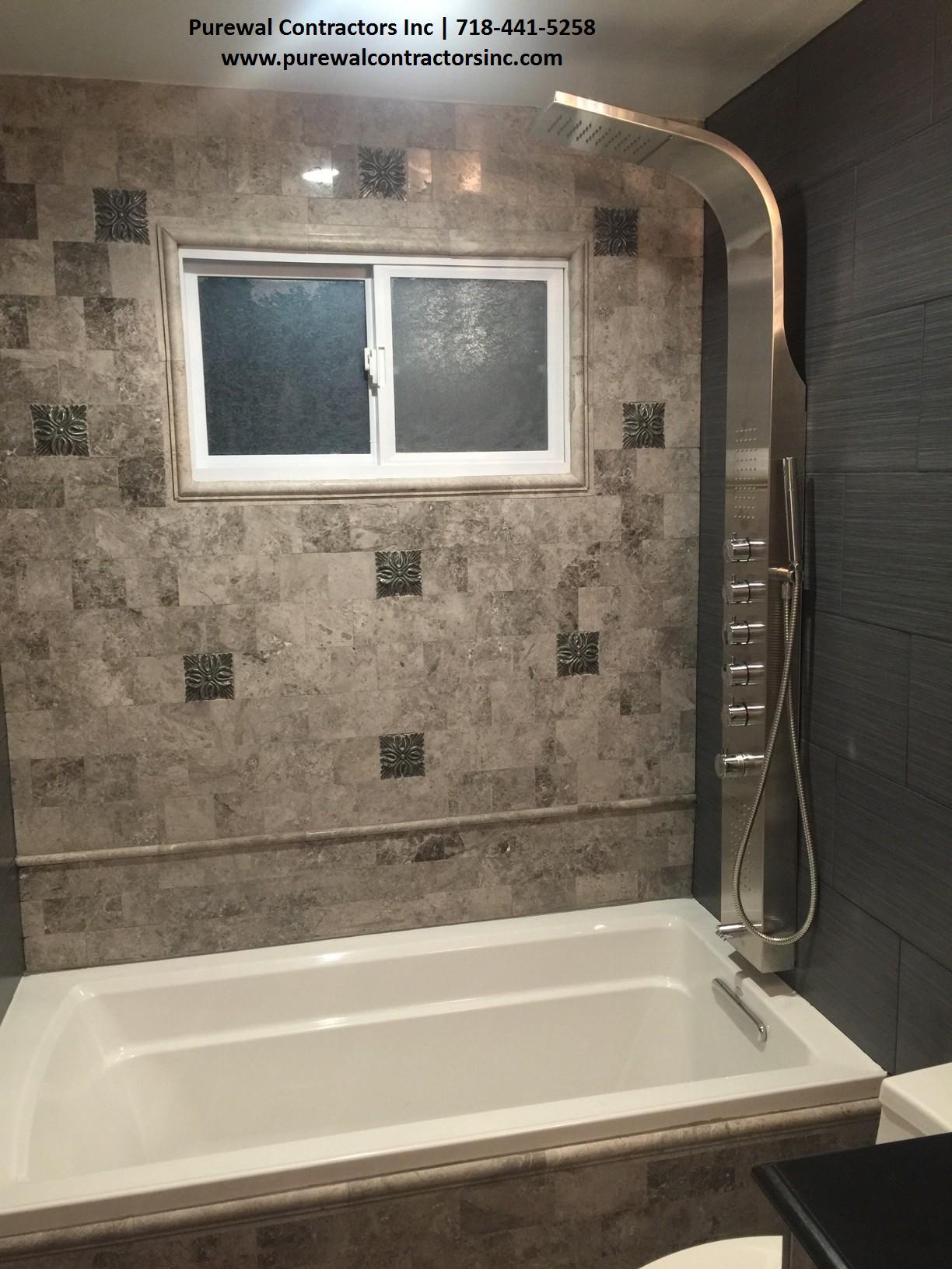 General Contractor Queens Brooklyn Purewal Contractors Inc - Bathroom contractors nyc
