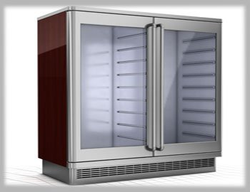 Man in-front of Refrigerator