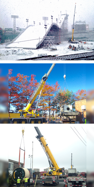 S & A Crane | Boston, MA | Shaughnessy & Ahern Co. | 617-269-6600