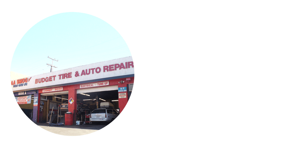 An auto repair shop