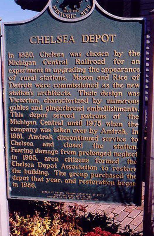 Chelsea history sign