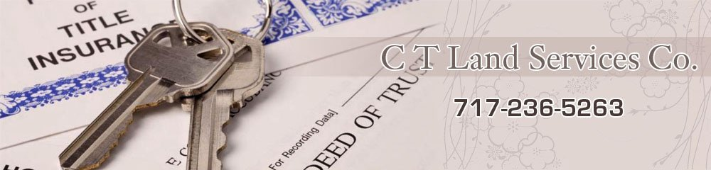 Title Companies And Agents - Harrisburg, PA - C T Land Services Co.