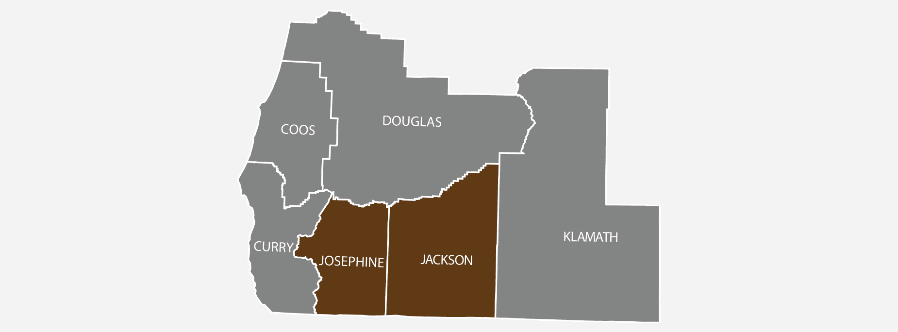 Integrity Real Estate Service Area Map