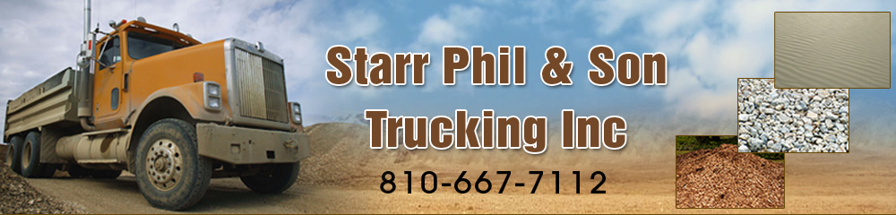 Hauling Service - Attica, MI - Starr Phil and Son Trucking Inc.
