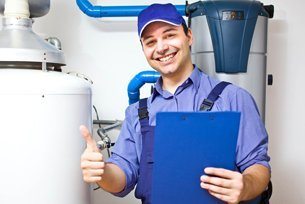 Water heater technician