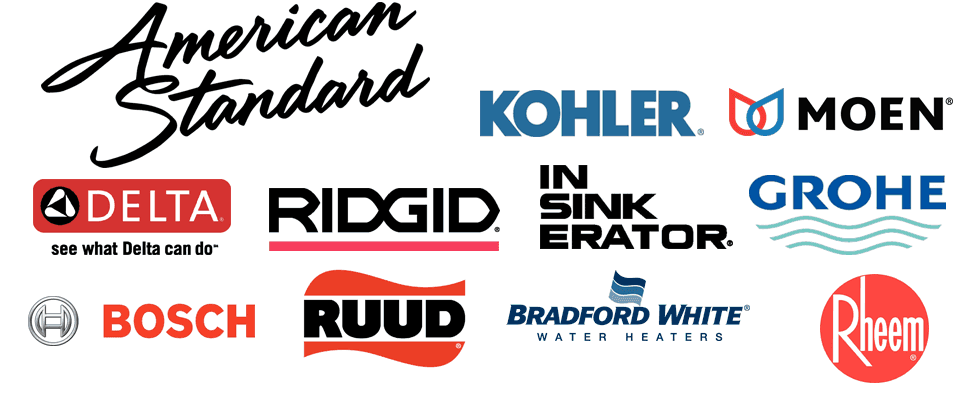KOHLER | MOEN | American Standard | DELTA | RIDGID | Insinkerator | GROHE | BOSCH | RUDD | Bradford White | Rheem