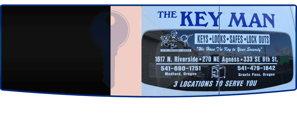 Locksmith | Grants Pass, OR | The Key Man | 541-479-1842