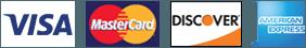 Visa, MasterCard, Discover, and AMEX