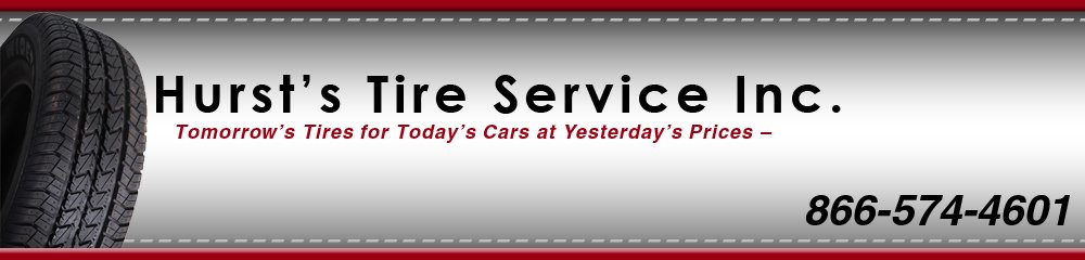 Tire Dealer - East Earl, PA - Hurst's Tire Service Inc