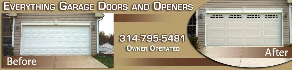 Garage Door Repair - Garage Door Service - O'Fallon, MO - Everything Garage Doors and Openers
