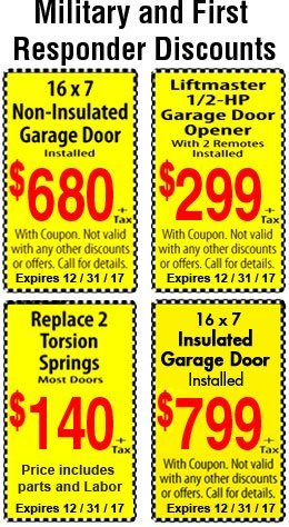 Coupon - Old Monroe, MO  - Everything Garage Doors and Openers