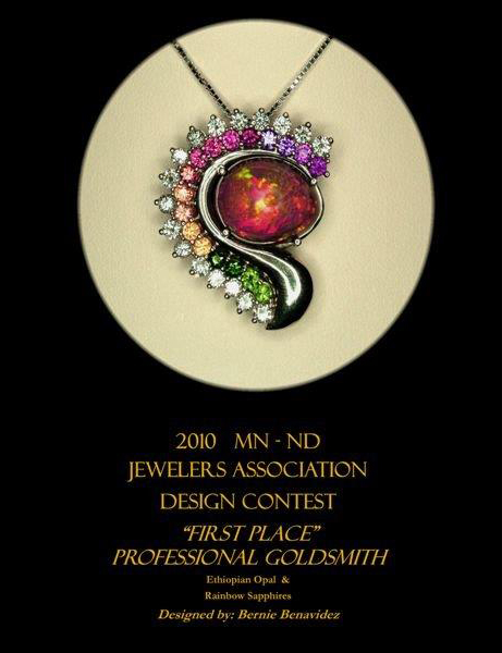 Jewelry Designer Awards Rochester MN Master Jewelers