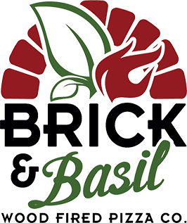 Brick & Basil Wood Fired Pizza Co. logo